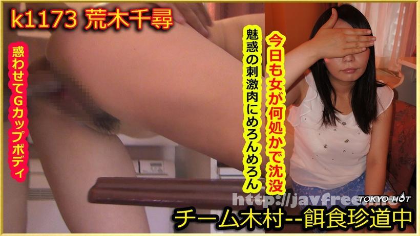 Tokyo Hot k1173 餌食牝 荒木千尋 Tokyo Hot