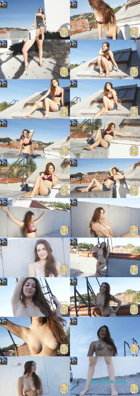 金髪天国618 初脱ぎ巨乳娘~美巨乳、グラマラスな美女がカメラの前で初めての裸体をさ らけだす!全メディア初公開 / マリッサ - image kin8tengoku-618 on https://javfree.me