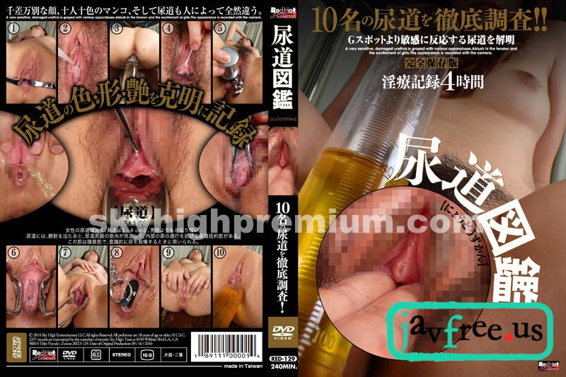 [RED-129] Red Hot Fetish Collection 尿道図鑑 - image red-129 on https://javfree.me