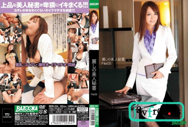 [MDB-234] 麗しの美人秘書 File05 - image MDB-234 on https://javfree.me