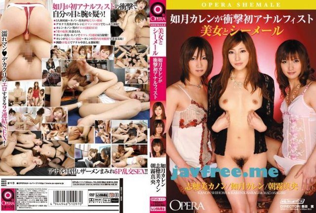 [PGD-448] For you… ~如月カレン、引退~ - image OPUD-111 on https://javfree.me